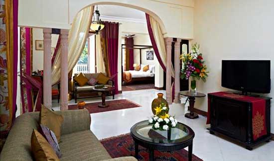 Honeymoon at Ranbanka Palace